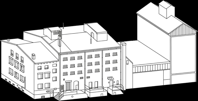 Speicher100 Gebäude-Skizze